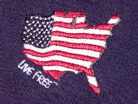 Live Free Shirt Made in the USA